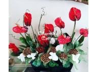 Red Grand Flower