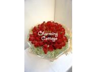 99 Elegant Red Roses