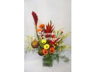Auspicious Flower In Vase